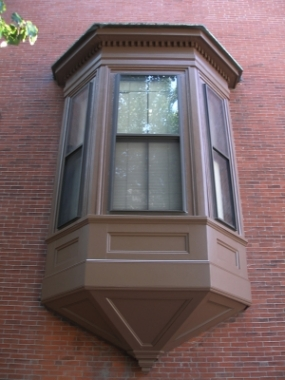 exterior window after