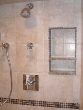 shower stall detail