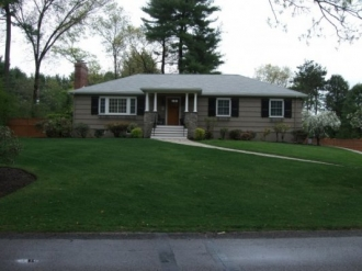 front yard and exterior after